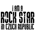 Rock Star In Czech Republic T-shirt