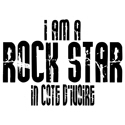 Rock Star In Cote d'Ivoire T-shirts