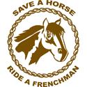 Ride A Frenchman T-shirts