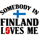 Somebody In Finland T-shirts