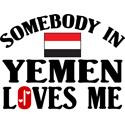 Somebody In Yemen T-shirt