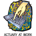 Actuary T-shirt, Actuary T-shirts