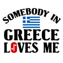 Somebody In Greece T-shirt