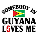 Somebody In Guyana T-shirt