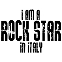 Rock Star In Italy T-shirts