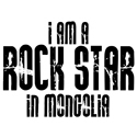 Rock Star In Mongolia