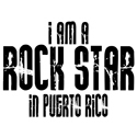 Rock Star In Puerto Rico T-shirts