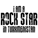 Rock Star In Turkmenistan T-shirts