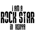 Rock Star In Kenya T-shirt