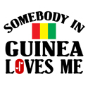 Somebody In Guinea T-shirt