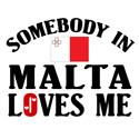 Somebody In Malta T-shirts