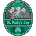 Retro St. Patty's Day T-shirt