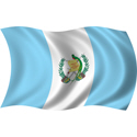 Wavy Guatemala Flag