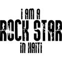Rock Star In Haiti T-shirts