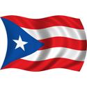 Wavy Puerto Rico Flag