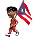 3D Puerto Rico T-shirt