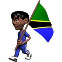 Cute 3D Tanzania T-shirt