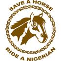 Ride A Nigerian T-shirt