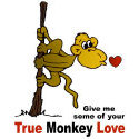 True Monkey Love T-shirt & Gift