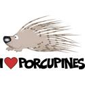 I Love Porcupine