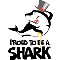 Proud To Be A Shark