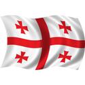 Wavy Georgia Flag