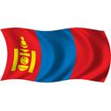 Wavy Mongolia Flag