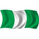 Wavy Nigeria Flag