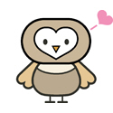 Cute Cartoon Owl