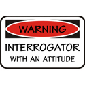 Interrogator T-shirt, Interrogator T-shirts