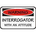 Interrogator T-shirt, Interrogator T-shirts