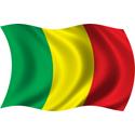 Wavy Mali Flag