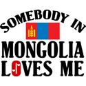 Somebody In Mongolia