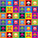 Pop Art Skull