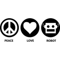 Peace Love Robot