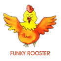 Funky Rooster Merchandise