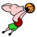 Basketball Pig Gifts