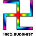 Buddhist Swastika T-shirt & Gift