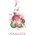 Yoga Lotus Namaste