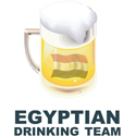 Egyptian Drinking Team