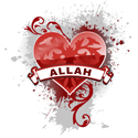 Heart Allah