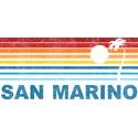 Retro Palm Tree San Marino