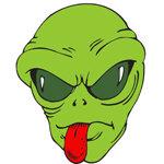 Alien T-shirt, Alien T-shirts, Alien Gifts