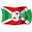 Wavy Burundi Flag