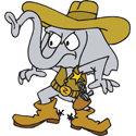 Elephant Cowboy