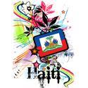 Flower Haiti T-shirt