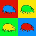 Pop Art Pig