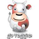 3D Cow Vegetarian