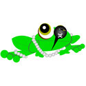 Pirate Frog