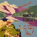 Vintage China Yangtsze Gorges